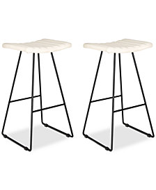 Nicklin Bar Stool (Set Of 2), Quick Ship
