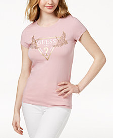 GUESS Studded Logo Graphic T-Shirt