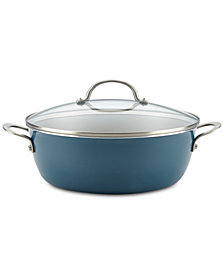 Ayesha Curry Home Collection 7.5-Qt. Wide Non-Stick Stockpot