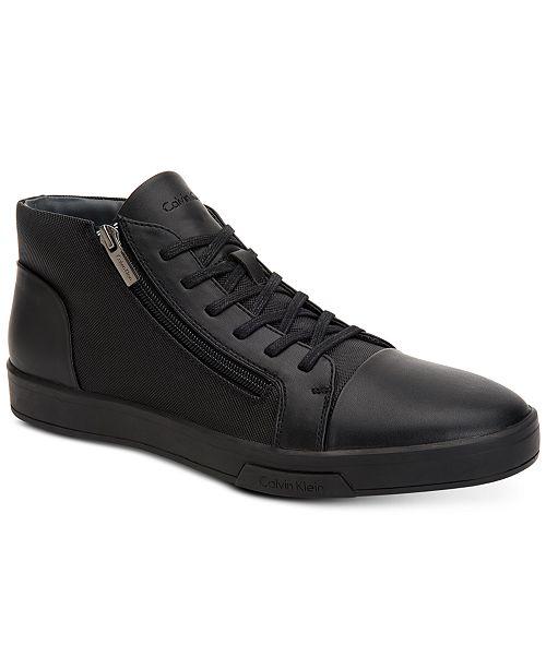 4d40f1e0afe5 Calvin Klein Men s Bozeman High-Top Sneakers   Reviews - All Men s ...