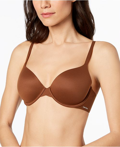 91da1921f1ff0 Calvin Klein Perfectly Fit Full Coverage T-Shirt Bra F3837   Reviews ...