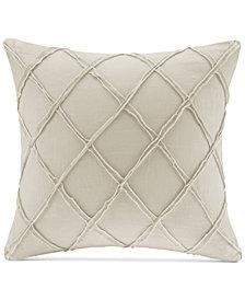"Harbor House Pieced Geometric 18"" Square Decorative Pillow"