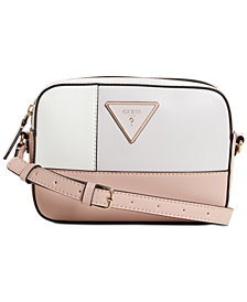 GUESS Kamryn Rose Top Zip Crossbody