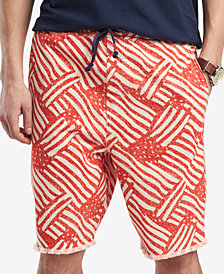 "Tommy Hilfiger Men's Hector 8"" Printed Shorts, Created for Macy's"