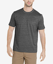 G.H. Bass & Co. Men's White Water Space-Dyed Performance T-Shirt