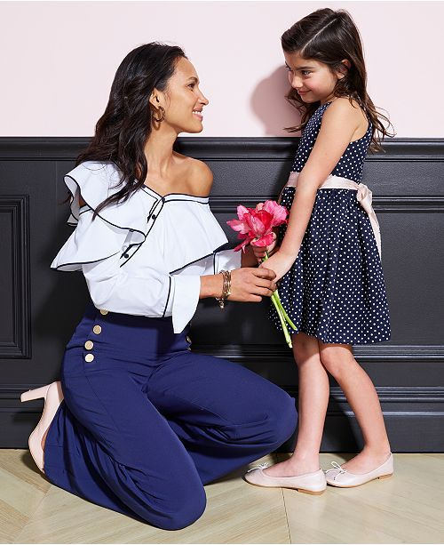 7b0d2b4764abab DKNY One-Shoulder Ruffled Shirt   Reviews - Tops - Women - Macy s