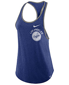 Nike Women's Los Angeles Dodgers Tri-Racer Tank
