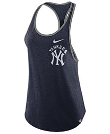 Nike Women's New York Yankees Tri-Racer Tank