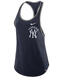 Nike Women's New York Yankees Tri-Racer Tank