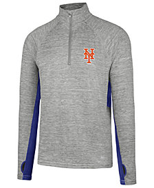'47 Brand Men's New York Mets Evolve Quarter-Zip Pullover