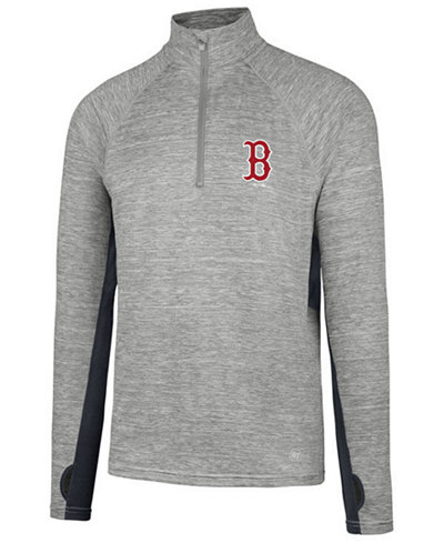 '47 Brand Men's Boston Red Sox Evolve Quarter-Zip Pullover