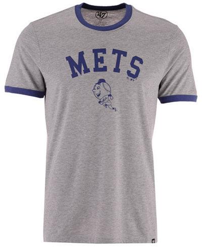 '47 Brand Men's New York Mets Capital Ringer T-Shirt