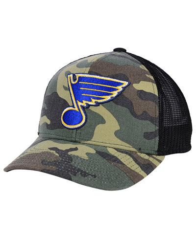 adidas St. Louis Blues Camo Trucker Cap