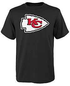 Outerstuff Kansas City Chiefs Primary Logo T-Shirt, Big Boys (8-20)