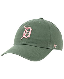'47 Brand Detroit Tigers Moss Pink CLEAN UP Cap