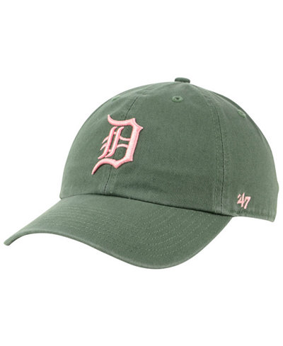 '47 Brand Detroit Tigers Moss Pink CLEAN UP Cap