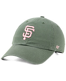 '47 Brand San Francisco Giants Moss Pink CLEAN UP Cap