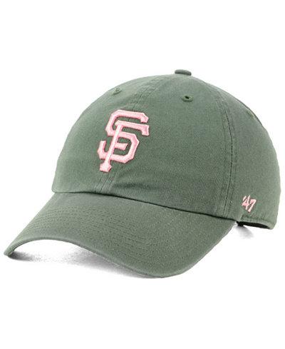 '47 Brand San Francisco Giants Moss Pink CLEAN UP Cap
