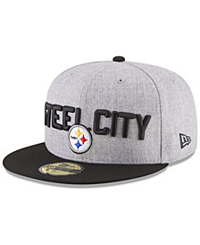 New Era Boys' Pittsburgh Steelers Draft 59FIFTY FITTED Cap
