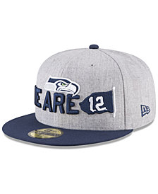 New Era Boys' Seattle Seahawks Draft 59FIFTY FITTED Cap