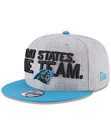 New Era Boys' Carolina Panthers Draft 9FIFTY Snapback Cap