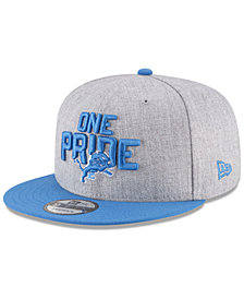 New Era Boys' Detroit Lions Draft 9FIFTY Snapback Cap
