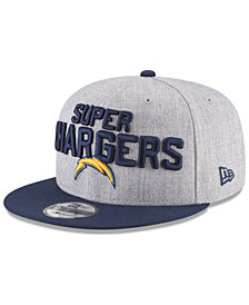 New Era Boys' Los Angeles Chargers Draft 9FIFTY Snapback Cap