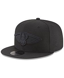 New Orleans Pelicans Blackout 59FIFTY Fitted Cap