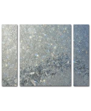 Kurt Shaffer 'Frost Pattern Sun Stars' Multi Panel Art Set Large - 25