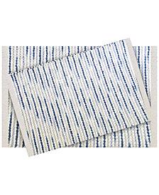 Idea Nuova 2-Pc. Tufted Ombré-Stripe Bath Rug Set
