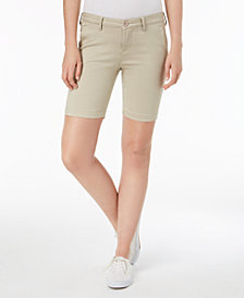Celebrity Pink Juniors' Low-Rise Bermuda Shorts