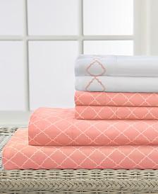 Elite Home Revina 6-Pc. Queen Sheet Set