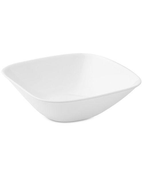 Corelle Square Pure White Bowl