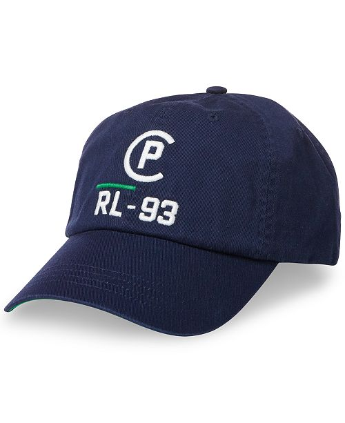 85f2cc2e21459 Polo Ralph Lauren Men s Twill CP-93 Baseball Cap   Reviews - Hats ...
