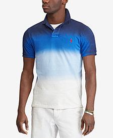 Polo Ralph Lauren Men's Dip Dyed Classic Fit Mesh Polo