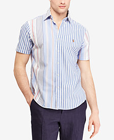 Polo Ralph Lauren Men's Classic Fit Striped Oxford Shirt