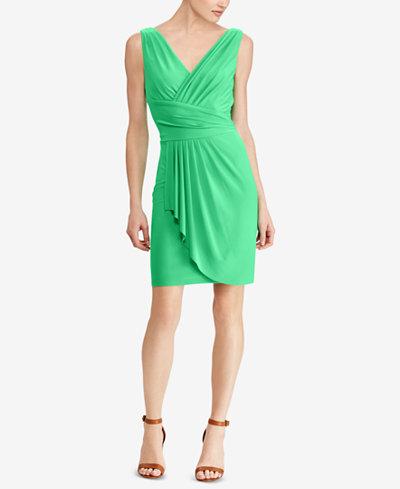American Living Draped Jersey Dress