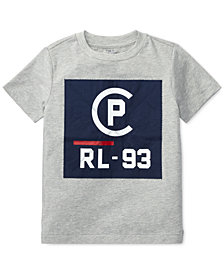 Polo Ralph Lauren Toddler Boys CP-93 Crew-Neck Cotton T-Shirt