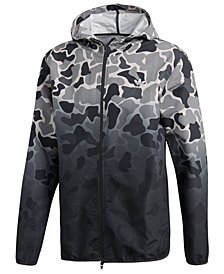 adidas Men's Originals Ombré Camo-Print Windbreaker