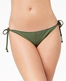 Roxy Goldy Sandy Ribbed Cheeky Bikini Bottoms