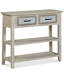 Bergen 2-Drawer Console Table, Quick Ship