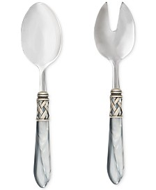 VIETRI Aladdin Antique 2-Pc. Salad Server Set