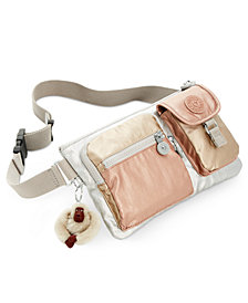 Kipling Presto Metallic Convertible Crossbody
