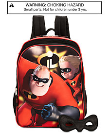 Disney's® Incredibles Backpack & Mask, Little & Big Boys