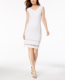 Calvin Klein Illusion Bandage Dress