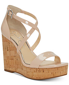 Jessica Simpson Stassi Platform Wedge Sandals