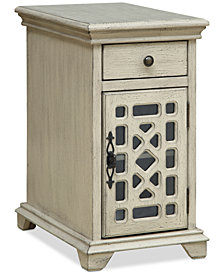 Chippendale Chairside Cabinet, Quick Ship