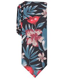 Original Penguin Men's Max Floral Skinny Tie