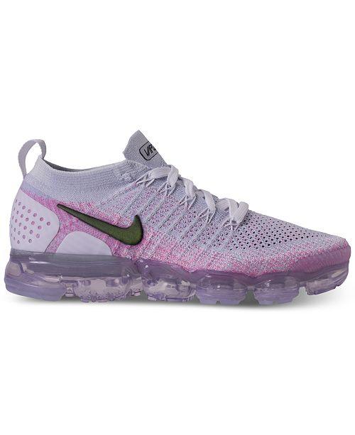 online retailer 7eaa5 cc8ec Nike Women's Air VaporMax Flyknit 2 Running Sneakers from ...