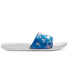 Nike Women's Benassi JDI Print Slide Sandals from Finish Line